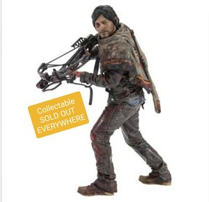 New Hot High Quality Mc Farlane Toys The Walking Dead Daryl Dixon Survivor Series 25CM Deluxe Action Figure Gift Toy Collection for Sale in Miami, FL