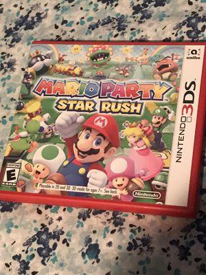 Mario Party Star Rush for Sale in New Brunswick, NJ