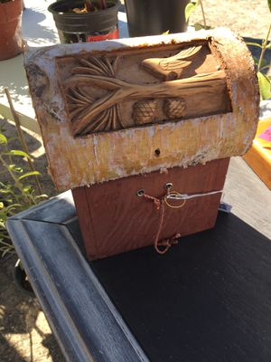 Carved wood Box for Sale in Manteca, CA