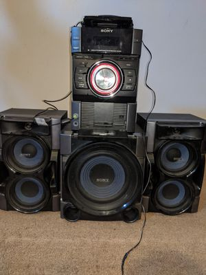 Sony Mini Hi-Fi Component System MCH-EC99i for Sale in Fresno, CA