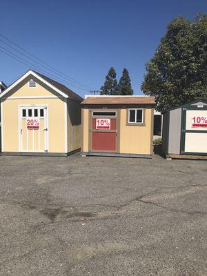 Custom Built Sheds for Sale in Escondido, CA