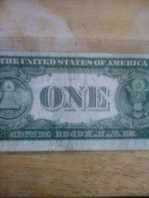 Super Rare 1935 No motto and ink error silver certificate for Sale in Raleigh, NC