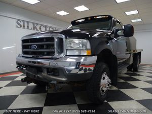 2004 Ford F-350 4x4 DIESEL ALUMINUM FLATBED LOW MILES! for Sale in Paterson, NJ