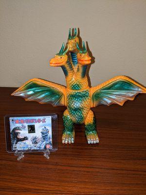 Bandai 1992 Toho Kaiju series King Ghidorah with Tag for Sale in Camas, WA