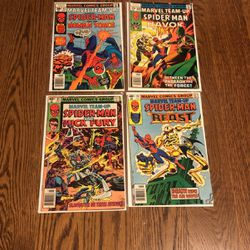 Marvel Team-Up Bronze Age Comics Lot #61, 69, 83, 90 for Sale in San Carlos,  CA