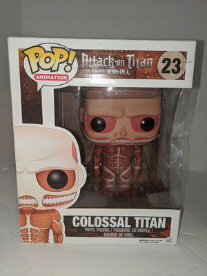 Funko Pop Attack on Titan #23 Collossal Titan for Sale in Tacoma, WA