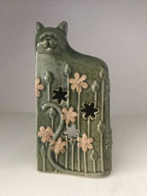 Tea lite Candle holder-Cat 6 inches for Sale in Westminster, CA