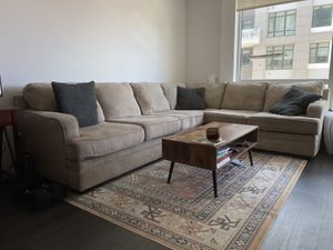 Beautiful beige sectional for sale for Sale in Oakland, CA