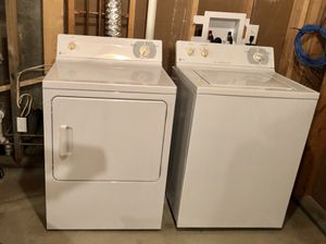 General Electric washer and dryer (sold as a set) for Sale in Augusta, MO
