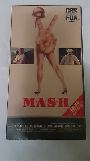 MASH, The Movie, 1969 On VHS for Sale in Ravenna, OH