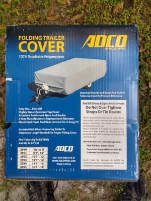 Pop-up Camper Cover for Sale in Dover, FL