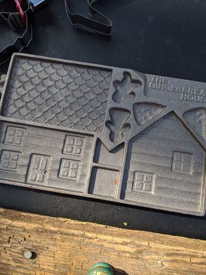 Gingerbread house mold for Sale in Pacific, WA