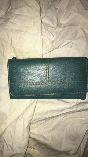 Teal wallet for Sale in Austin, TX