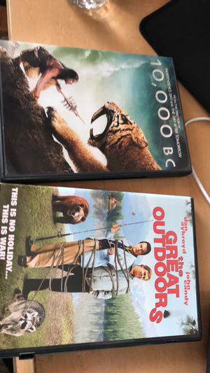 10,000 bc and the great outdoors dvd for Sale in Portland, OR