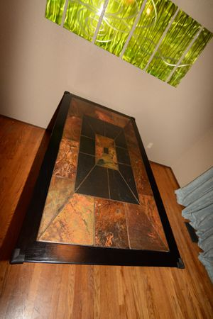 Stone inlaid dining table for Sale in Tacoma, WA