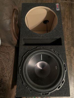 "12"" dual sub box for Sale in San Antonio, TX"
