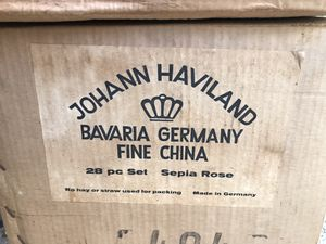 NEVER USED ANTIQUE JOHANN HAVILAND CHINA for Sale in Glassport, PA