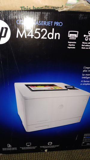 HP laserjet pro printer M452dn for Sale in Detroit, MI