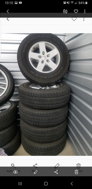 Jeep Wrangler Tires and Wheels for Sale in Cypress, TX