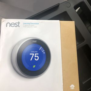 Nest Thermostat 3rd Generation for Sale in East Providence, RI