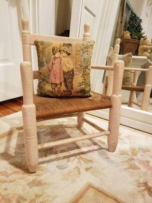 Antique childrens chair for Sale in Norfolk, VA