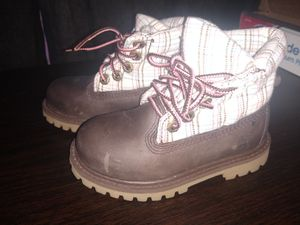Girls Toddler boots Timberland size 7 for Sale in Tucker, GA
