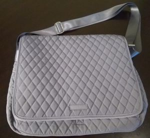 New Vera Bradley Carbon Gray Messenger Bag for Sale in Alexandria, VA