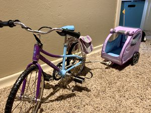American Girl Doll Toy Bike and Pet Carrier for Sale in Bothell, WA