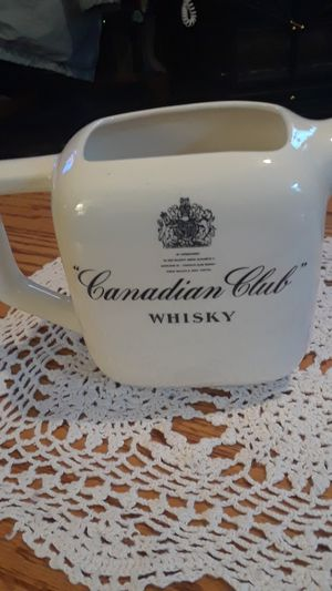 Canadian club whisky pitcher for Sale in Klamath Falls, OR