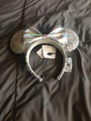 Disney silver ears for Sale in Bell, CA