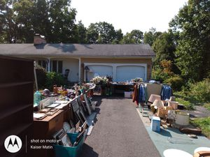 SATURDAY and SUNDAY 9am to 6 pm HUGE tag sale for Sale in Wilbraham, MA