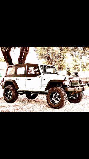 Jeep lift kit. Tires. Wheels. Rims. Auto part for Sale in Miami, FL