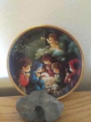 Precious moments plate for Sale in Fresno, CA