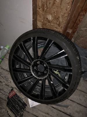 20inch rims for Sale in Stow, OH