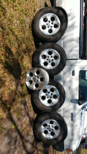 Jeep Wrangler wheels and tires for Sale in Jacksonville, FL
