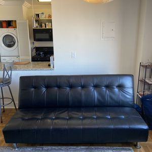 *Leather Futon Couch* for Sale in Los Angeles, CA