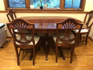 Antique Duncan Phyfe Mahogany Table Set for Sale in Durham, NC