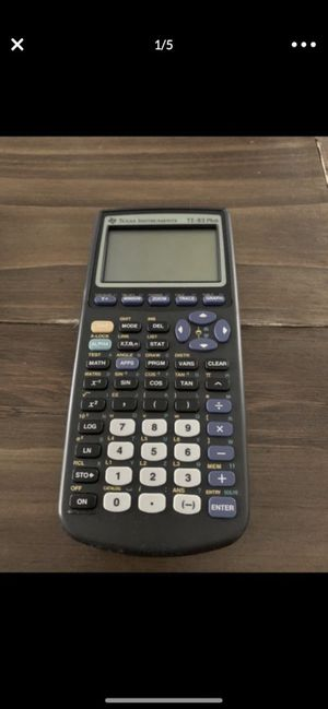 Texas Instruments TI-83 Plus Calculator- works great for Sale in Davie, FL