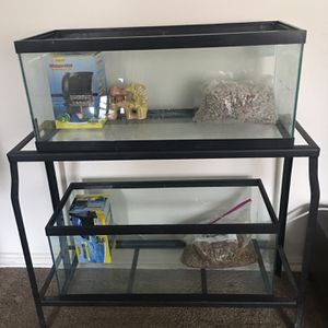 Two 20 Gallon Aquariums for Sale in Arlington, VA