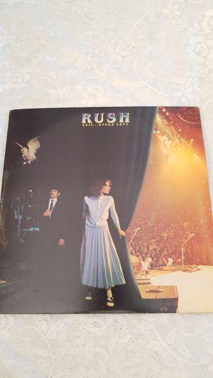 RUSH EXIT... STAGE LEFT VINYL LP RECORD ALBUM for Sale in Cypress Gardens, FL