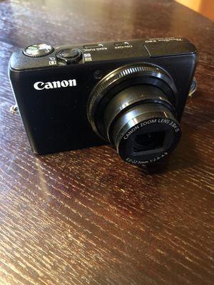 Canon PowerShot s90 10mp digital camera for Sale in Seattle, WA