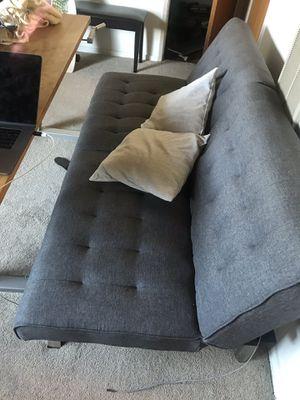 Grey futon for Sale in Los Angeles, CA