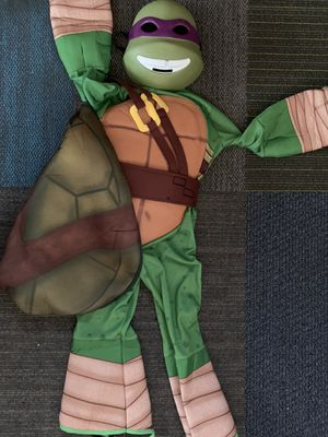 Child small ninja turtle costume with mask. for Sale in San Diego, CA