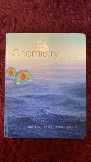 Chemistry - Eighth Edition (Hardcover Textbook) for Sale in Jupiter, FL