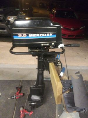 Mercury 3.5 outboard boat motor for Sale in Buford, GA