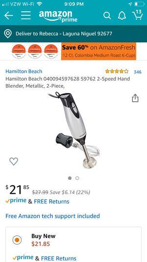 Brand new Hamilton beach hand blender for Sale in Laguna Niguel, CA