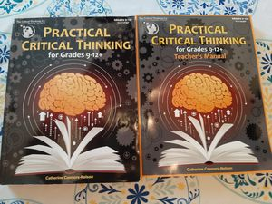 The Critical Thinking Co. -Practical Critical Thinking for Sale in Orange, VA