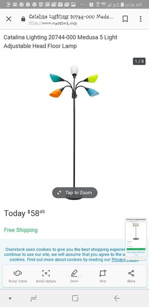 Floor lamp for Sale in Greensboro, NC