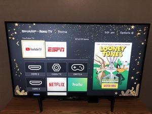 "50"" SHARP ROKU TV for Sale in Austell, GA"