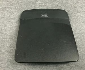 Tested! Cisco / Linksys Black Wi-Fi Router E1200 - No Power Supply for Sale in San Diego, CA